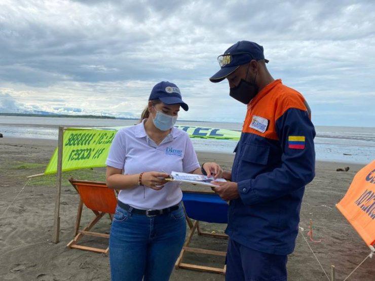 La Dirección General Marítima (Dimar), a través de la Capitanía de Puerto de Buenaventura, continúa ejecutando controles y preparándose para la pretemporada en playas de Buenaventura y recibir a propios y visitantes en el marco de la temporada alta.