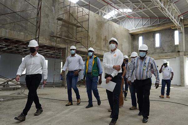 Construcción del Centro Náutico Pesquero de Buenaventura avanza en 75% de ejecución