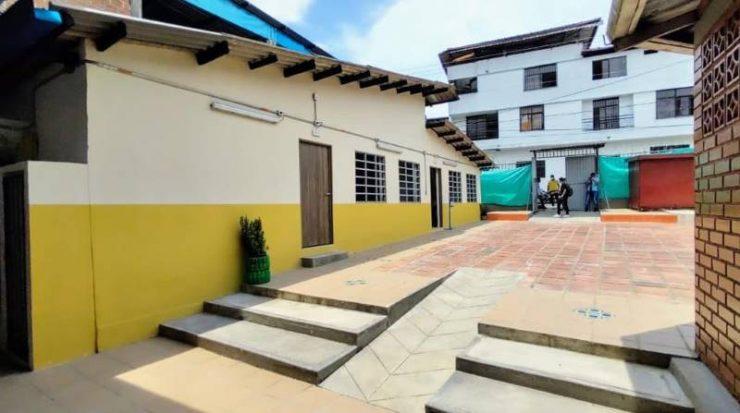 Gracias a la alianza público - privada se pudo adelantar la recuperación del plantel educativo Juan José Rondón sede Enrique Olaya Herrera, ubicado en el barrio María Eugenia.