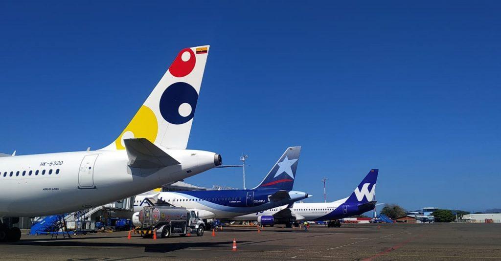 Aeropuerto de Santa Marta recuperó en un 92.7% las operaciones comerciales