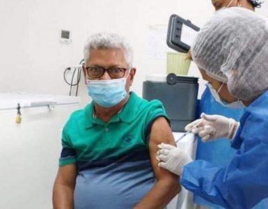 La vacunación se ha realizado en varios corregimientos de Uribia, como Cabo de la Vela y Medina Luna.