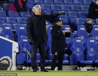 Brighton 0-0 Everton: Toffees mediocre afortunados de escapar con un punto