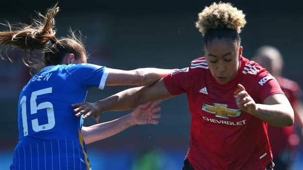 Brighton & Hove Albion 1-0 Manchester United: Inessa Kaagman da la victoria a Seagulls