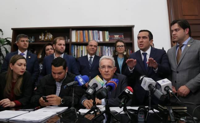 Centro Democrático presentó su propuesta de cambios al texto de la reforma tributaria
