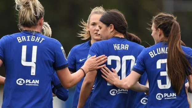 Chelsea 6-0 Birmingham City: Sam Kerr lleva a Blues a ganar con hat-trick