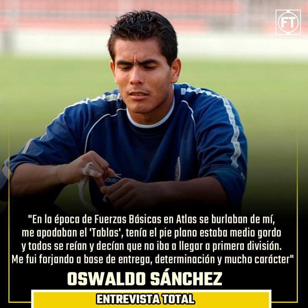 Oswaldo Sánchez vivió momentos complicados en Atlas