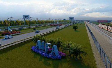 El AIFA podría tener un peculiar logo (Foto: Gobierno de México)