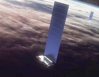 OneWeb y SpaceX (en la foto), las potencias de la industria de los satélites de Internet, tuvieron un encuentro peligrosamente cercano el fin de semana pasado que fue algo fuera de este mundo.