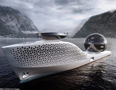 Un buque de exploración científica de 984 pies de eslora libre de emisiones y de propulsión nuclear, tan grande como el crucero más largo del mundo, se lanzará en 2025 con 22 laboratorios de vanguardia y más de 400 personas a bordo.