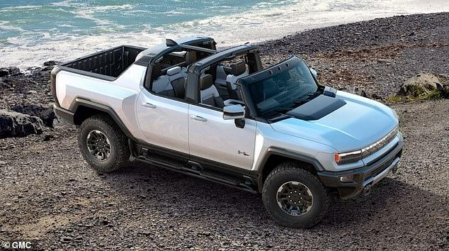 General Motors ha presentado el SUV GMC Hummer EV de cinco asientos, con la Edición 1 a un precio minorista de $ 106,00