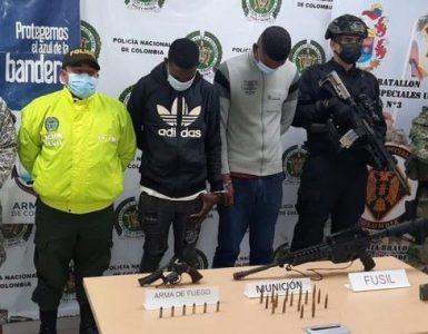 Detenidos por presunta fabricación, tráfico y porte de armas de fuego en Buenaventura