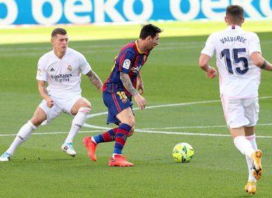 Lionel Messi arrastra una gran sequía de goles en los clásicos ante el Real Madrid (Foto: REUTERS)