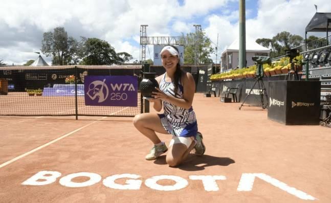 María Camila Osorio, sobre el título en la Copa Colsánitas