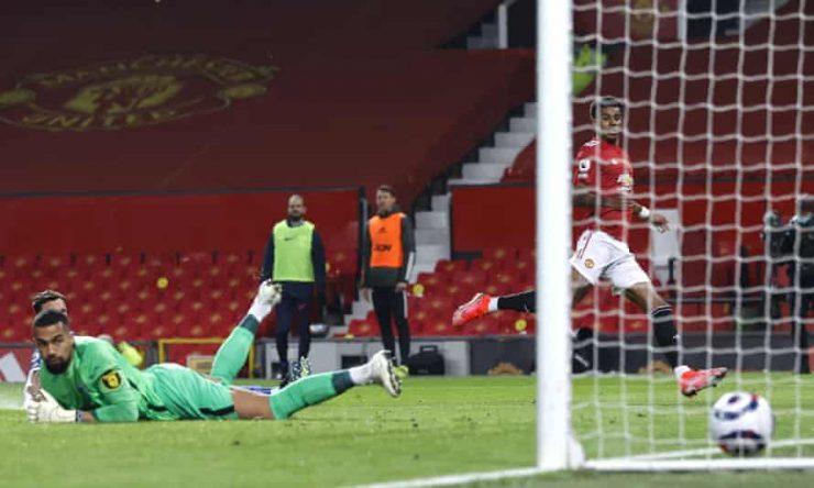 Mason Greenwood sella la remontada del Manchester United sobre Brighton | Liga Premier