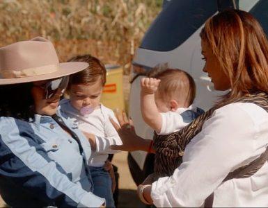 Antiguos rivales: Mercedes 'MJ' Javid y Golnesa 'GG' Gharachedaghi son vistos presentando a sus hijos en la vista previa de Shahs of Sunset temporada 9