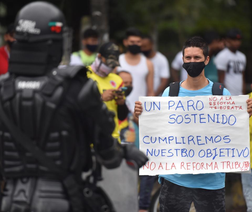 Paro nacional 29 de abril: así avanza marchas hoy en la segunda jornada de protestas | Economía