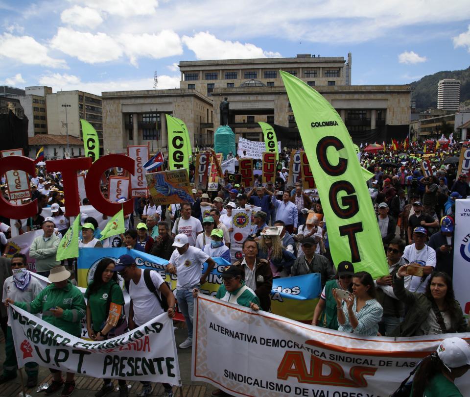 Paro nacional Los puntos y horas de concentración en Bogotá | Economía