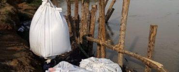 Realizan obras para evitar inundaciones por erosión de río Cauca en Bolívar