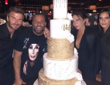 Días felices: las últimas publicaciones de Victoria Beckham mostraron a los fanáticos lo lujoso que fue el gran día, ya que publicó imágenes de su pastel de cumpleaños de cinco niveles y arte de sandía.