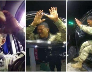 ¿Abuso por ser negro o por ser militar? Un nuevo caso de abuso policial en estados unidos