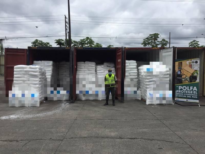 La Polfa Buenaventura aprehendió 78.000 kilogramos de polipropileno homopolimero por un valor comercial de 1.427 millones de pesos