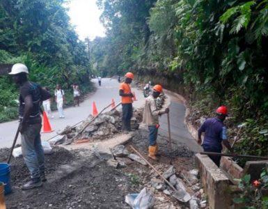 Por derrumbe en Kilómetro 100 en la vía Cali Buenaventura, afectado el internet de miles de usuarios en el país