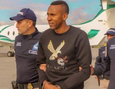 Jhon Viáfara Condenado a 11 años después de habersedeclarado culpable de un cargo de conspiración para importar cinco kilos o más de cocaína a Estados Unidos el pasado mes de noviembre de 2020.
