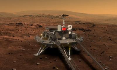 ¿qué es lo que hará el rover chino en Marte?