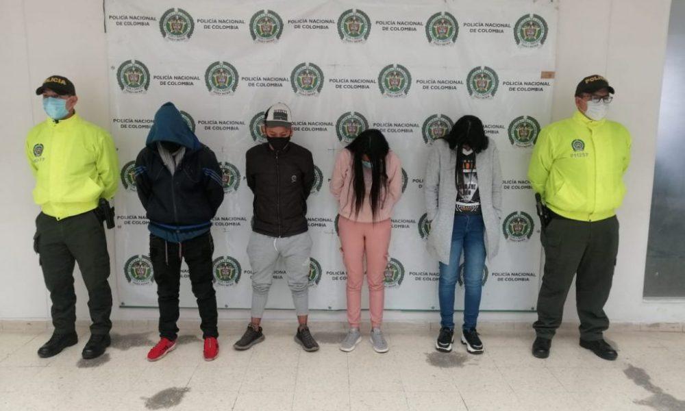 A la cárcel cuatro presuntos integrantes de la banda delictiva Los de John, dedicada al hurto de almacenes en Pasto (Nariño)