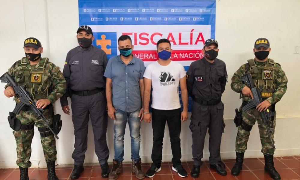 A la cárcel fueron enviados dos hombres por presuntamente extorsionar a comerciante del Meta