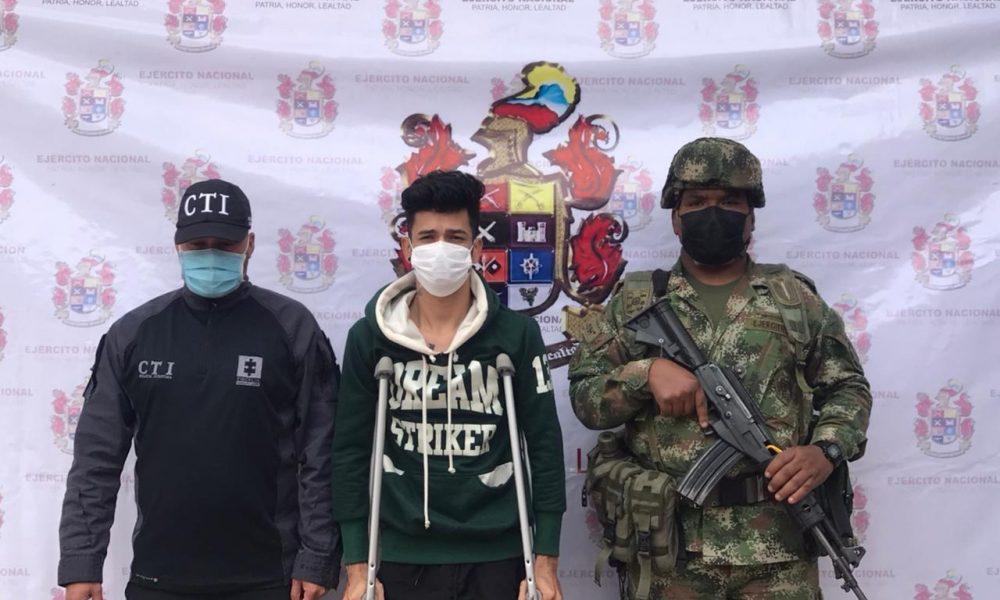 A la cárcel presunto cabecilla de la comisión de finanzas de las disidencias 'Carlos Patiño' en Cauca