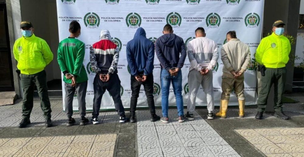 A la cárcel seis presuntos implicados en el incendio del peaje de Irra en la vía Manizales – Medellín, durante las jornadas de protesta