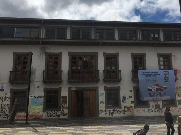 Alcaldía de Pasto le reclamó a la Policía por trasladar manifestantes a la sede San Andrés