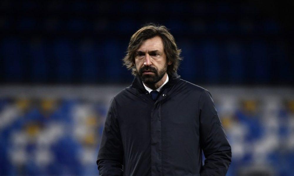 Andrea Pirlo deja de ser el técnico de la Juventus
