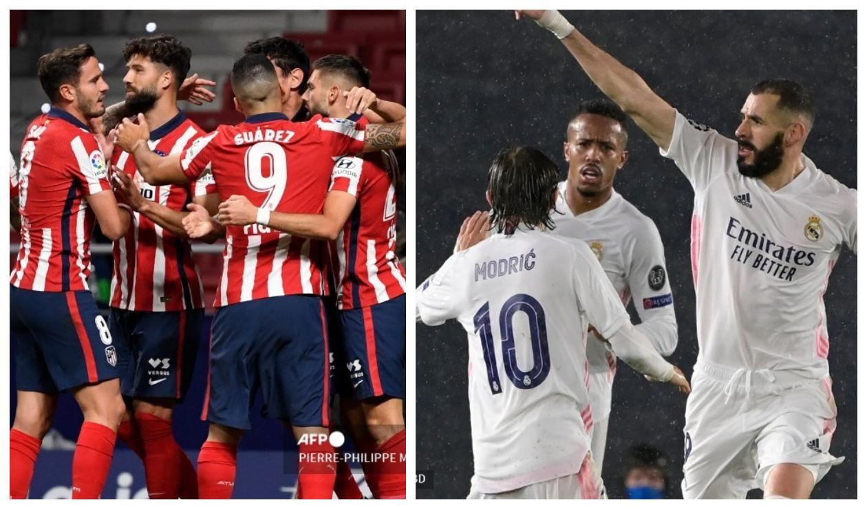 Atlético y Real Madrid jugarán al rojo vivo la última fecha de La Liga