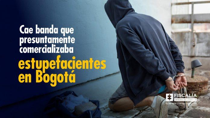 Cae banda que presuntamente comercializaba estupefacientes en Bogotá