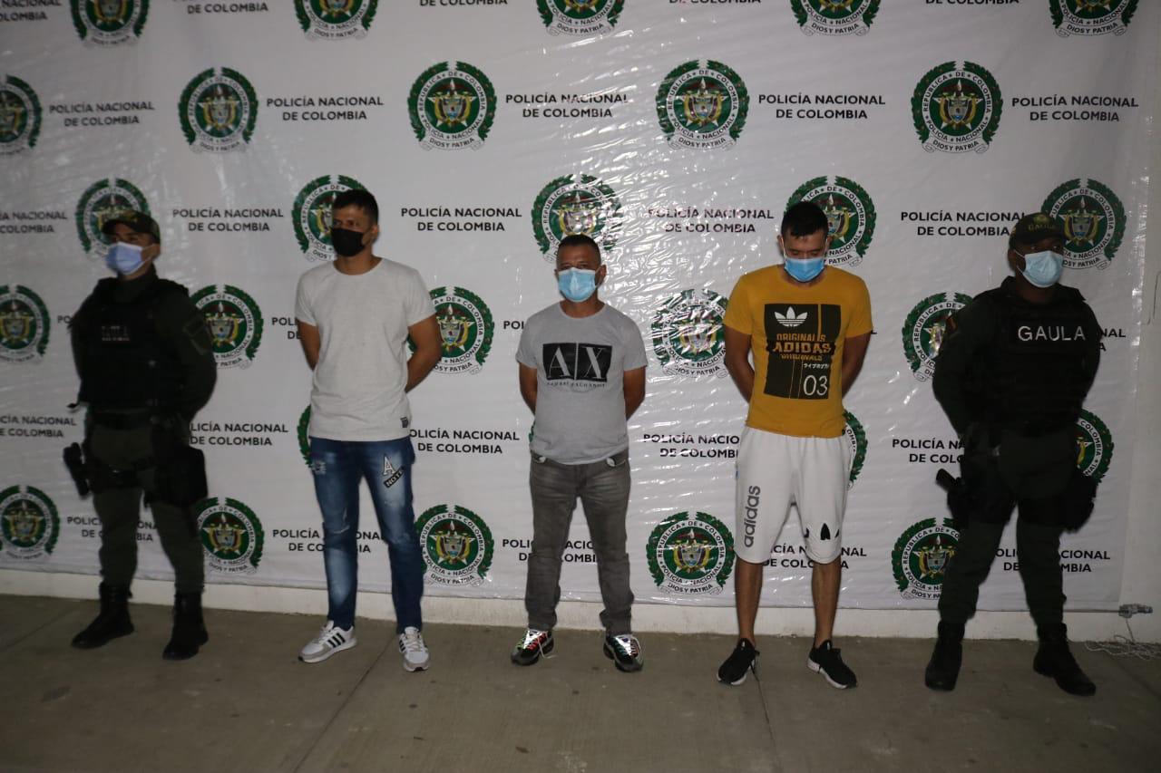 Capturados los responsables de actos terroristas y vandálicos en Cali