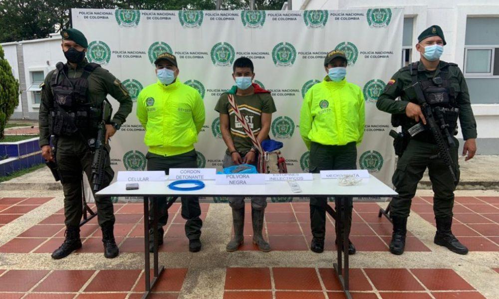Cárcel para presunto integrante de la GAOR Dagoberto Ramos en el Norte del Cauca