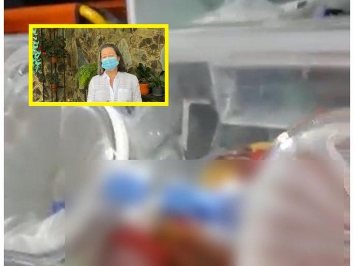 "Caso de recién nacida en La Delfina: 12:30 a.m. salida del hospital, 1:30 llegaron al bloqueo, 2:30 ""ataque del Esmad a manifestantes"""