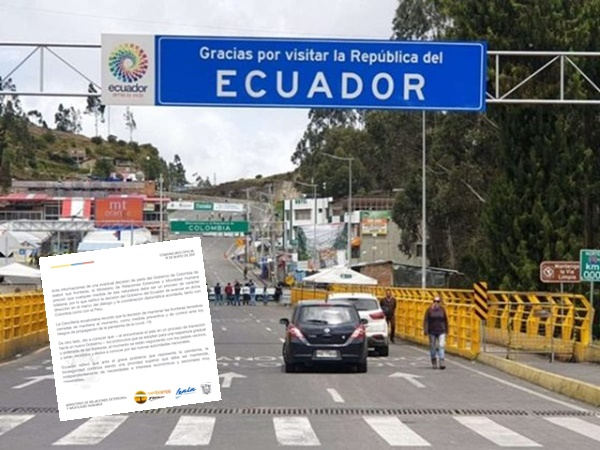 frontera con Ecuador