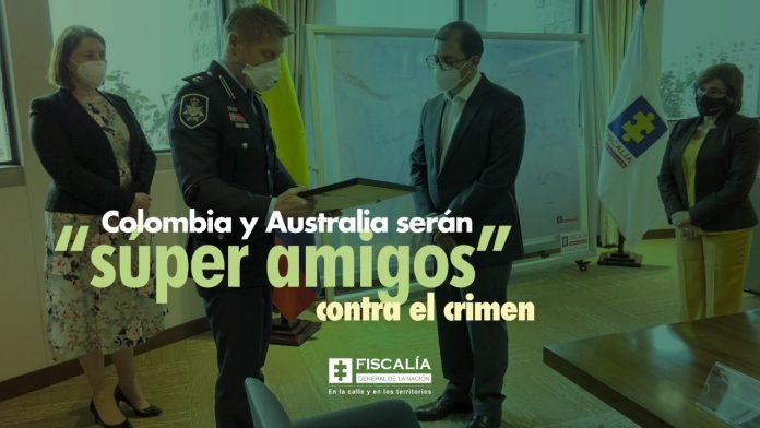 """Colombia y Australia serán """"súper amigos"""" contra el crimen"""