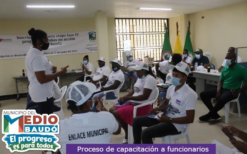 Con éxito inició en el municipio de Medio Baudó, el proceso de inscripción de la primera etapa, fase IV del programa Familias en Acción.