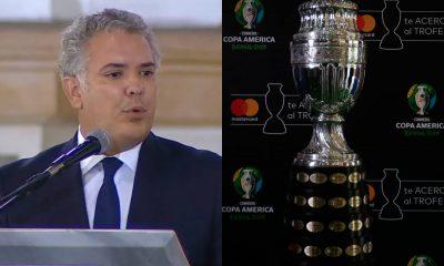 Copa América: Iván Duque le pide reflexión a la Conmebol