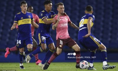 Copa Libertadores: Boca Juniors igualó con Barcelona en La Bombonera