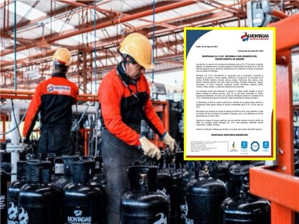 Apertura de corredor humanitario permitirá la distribución de gas en municipios de Nariño