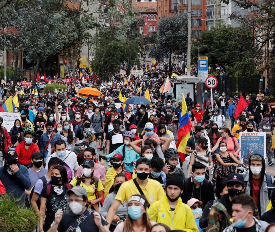 Cuarto día consecutivo de protestas en Colombia | Economía