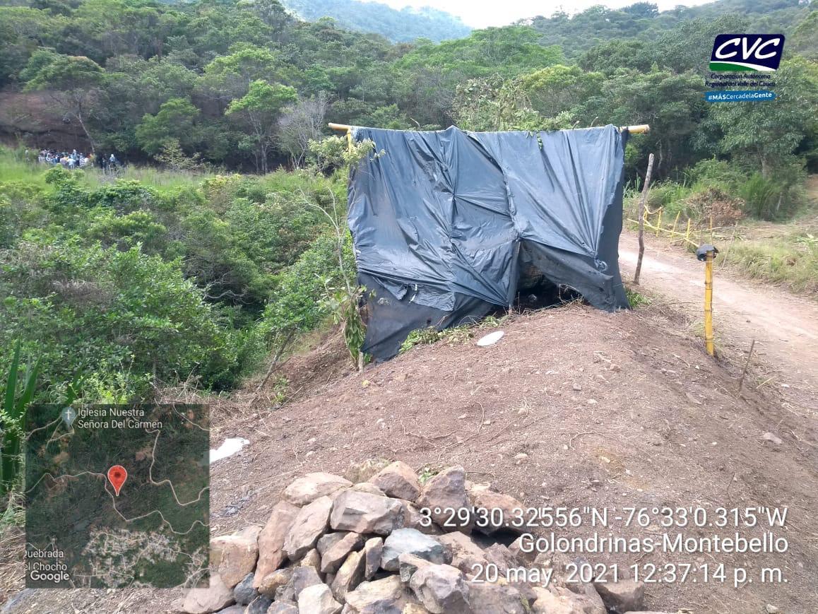 Cvc alerta sobre afectaciones ambientales en Golondrinas
