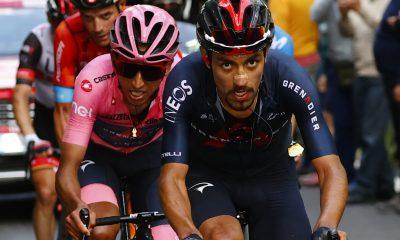 Dani Martínez y el emotivo mensaje para Egan Bernal; Giro de Italia