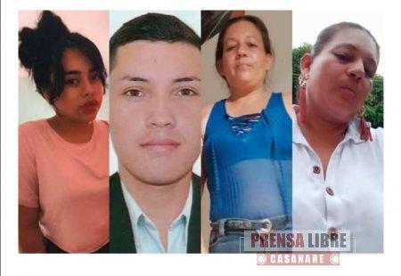 Denuncian desaparición de 4 integrantes de comisión de la Unidad de Restitución de Tierras