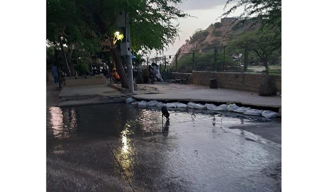 Denuncian grave problemática ambiental por aguas residuales en El Rodadero